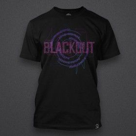 Blackout - Glitch - Purple - Shirt