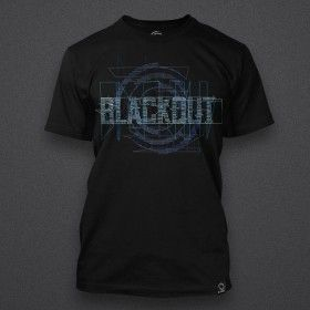 Blackout - Glitch - Blue - Shirt