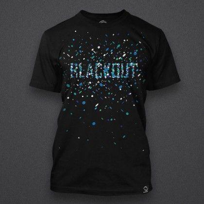 Blackout - Blue Particles - Shirt