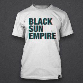 Black Sun Empire - Triple-D - White - Shirt