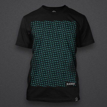 Blackout - Blue Grey Grid - Shirt