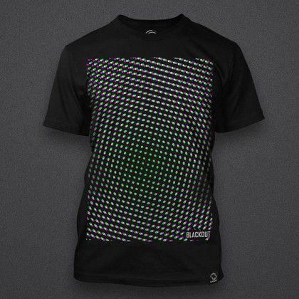 Blackout - 3D Grid - Shirt