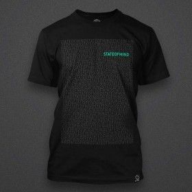 State Of Mind - Repeat (black) - Shirt