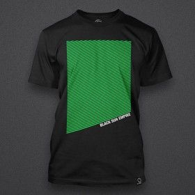 Black Sun Empire - Green Stripes Shirt
