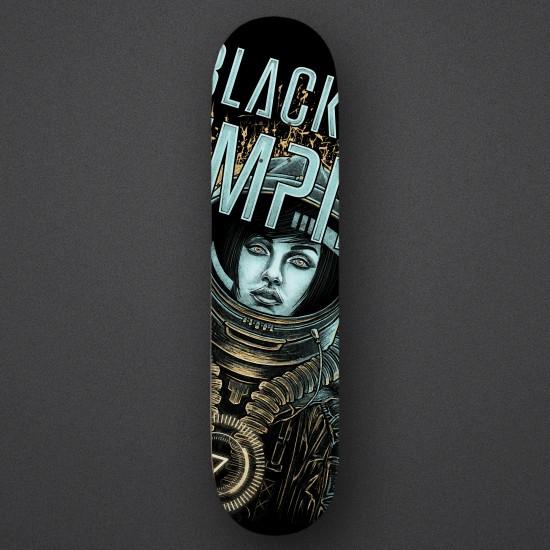 Black Sun Empire - Astronaut Girl - Skateboard