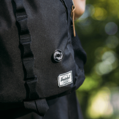 Blackout Logo Pin