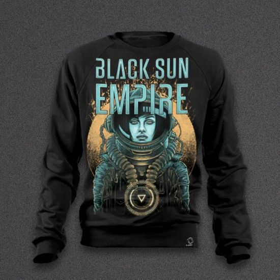 Black Sun Empire - Astronaut Girl - Sweater