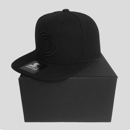 Blackout - Logo - Black - Starter Snapback