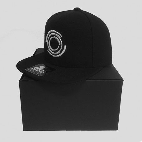 Blackout - Logo - White - Starter Snapback