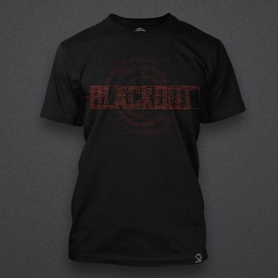 Blackout - Glitch - Red - Shirt