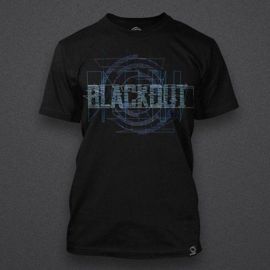 Blackout - Glitch - Blue - Shirt