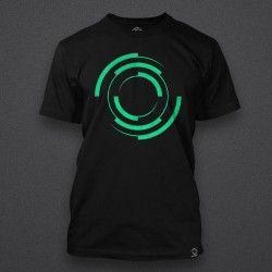 Blackout - Logo - GREEN - Male Shirt