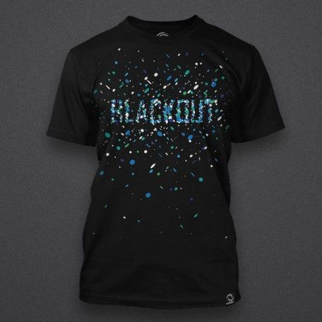 Blackout - Blue Particles - Shirt
