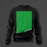 Black Sun Empire - Green Stripes - Sweaters