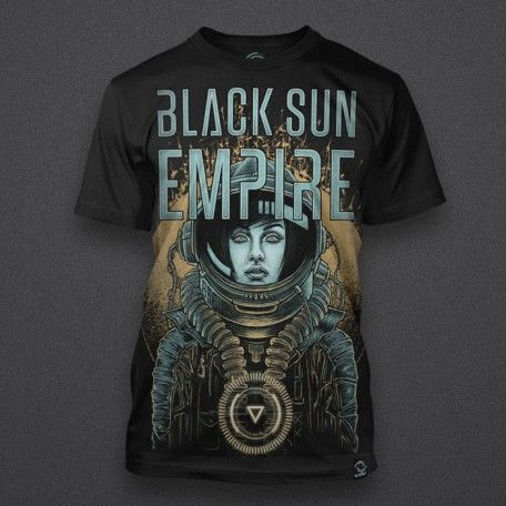 Black Sun Empire - Astronaut Girl - Shirt