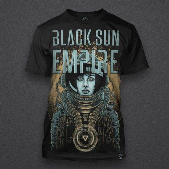 Black Sun Empire - Astronaut Girl - Shirt