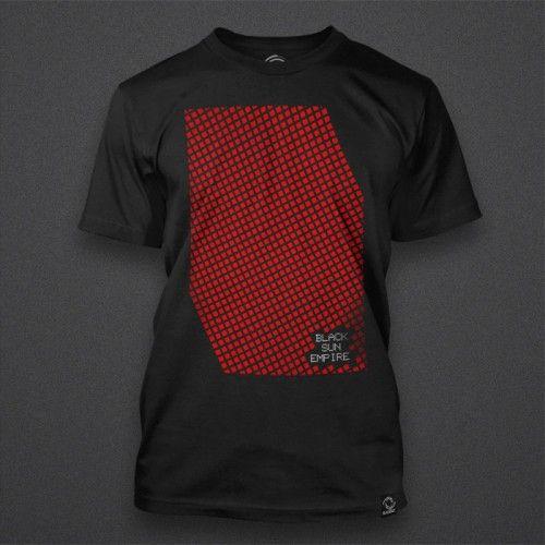 Black Sun Empire - Cubes Red Shirt | Blackout Music NL Store