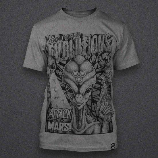 Blackout - Evolutions - Volume 4 - Shirt - GREY