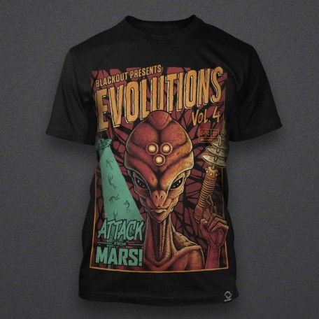 Blackout - Evolutions - Volume 4 - Shirt