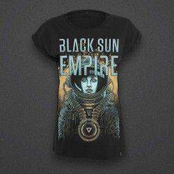 Black Sun Empire - Astronaut Girl - Female - Shirt - NEW