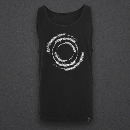 Blackout - Scratch - Male Tank Top