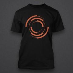 Blackout - Logo - ORAGNE - Male Shirt