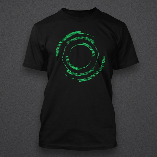 Blackout - Logo - Sketch - Green - Shirt