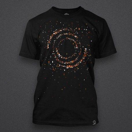 Blackout - Orange Particles Logo - Shirt