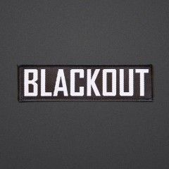 Blackout - Patch - Text