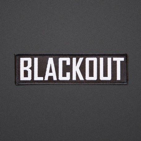 Blackout - Patch - Text