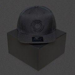 Blackout - Logo - Black - Starter Snapback Cap
