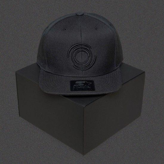 3a6f084bc Blackout - Logo - Black - Starter Snapback