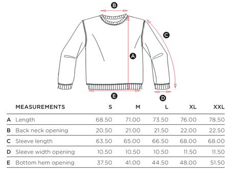 Ugly Sweater Size Guide Measuring Tips to Assure The Best Fit Chest/Bust Measurement (in inches) With arms at sides, place tape measure under your arms and run it around the fullest part of the bustline and across the shoulder blades. Waist Measurement (in inches) Find the natural crease of your waist by bending to one side. .